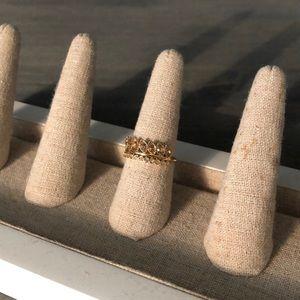 Brier sparkle ring (size 7)